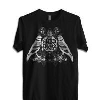 """Kaos BLACK CROWES""""Europe 2009"""" GILDAN Tshirt"""