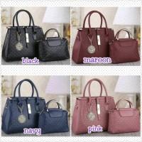 Tas Import Kora Branded Fashion Handbags Gh*vency 2in1 2497