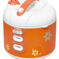 TURBO Rice Cooker / Magic Com 1.8Liter CRL 1180 / CRL1180 WARNA ORANGE