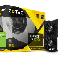 Zotac GTX 1050 Ti OC 4GB DDR5 - Dual Fan (OC Edition)