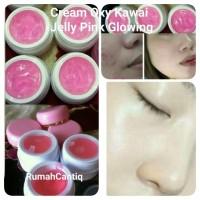 Cream Oxy Kawai Jelly Pink Glowing 15gr