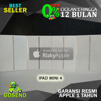 BNIB TERMURAH iPad Mini 4 Wifi Only 32GB Garansi Apple 1 Tahun