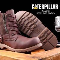 harga Sepatu Caterpillar Kansas Boots Safety (ujung Besi) Made France Import Tokopedia.com