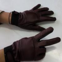 Jual Sarung Tangan motor bahan kulit asli untuk cewe/cowo Murah