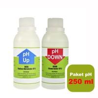 Paket pH Up dan Down Untuk Nutrisi Tanaman Hidroponik @250 ml Cair