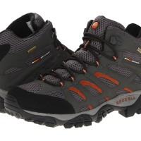 Sepatu Merrell Moab Mid Ventilator GTX Goretex Beluga Original import