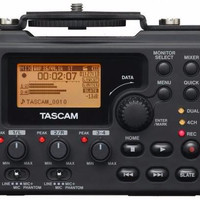 JaGro | TASCAM DR DR-60D Mk II Linear PCM Recorder for DSLR Filmmaking