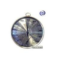 Thermo-Hygrometer Analog/ Alat ukur suhu & kelembaban, ALLA FRANCE