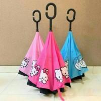Jual Payung terbalik/Kazbrella karakter Murah