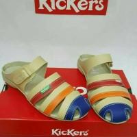 Sandal sepatu wanita kickers grade original sol karet bagus