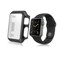 Wakaka Electroplating Hard PC Case Apple Watch 42mm Series 2 - Hitam