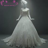 gaun pengantin baru wedding gown baju pengantin mewah bahan brokat