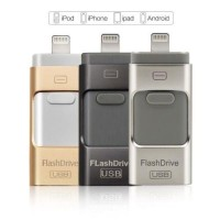 Jual USB OTG Combo Android and Iphone / i-Flash Drive HD 3-in-1 64GB Murah