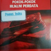 Buku Pokok-Pokok Hukum Perdata