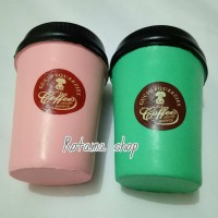 Squishy hot coffe/gelas kopi/squishy tumbler cup coffe