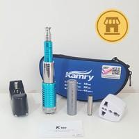 2017 Vape Kit K100 Mod By KamryTech Biru Muda Turquoise Aqua Blue