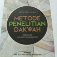 Metode Penelitian Dakwah*Dr.Dewi Sadiah