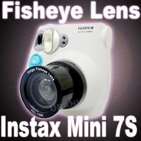 Holga Fish Eye Lens untuk kamera Instax 7s polaroid