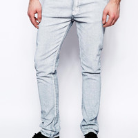 SALE 50% OFF! Nudie Jeans Tube Tom White Painted