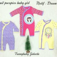 jumpsuit bayi 1 pak isi 3 / jumper bayi / baju bayi