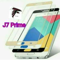Tempered Glass Warna Full Screen Samsung J 7 Prime