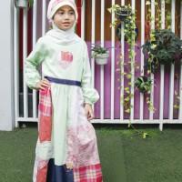 Baju Muslim Anak Hijau Size 6 RP 175.000