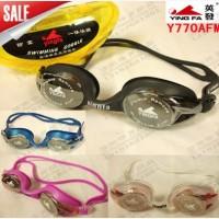 Kacamata Renang Yingfa Y770AF(M) / Chrome / Silicone / Dewasa Anak