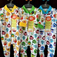 Harga velvet junior 3pc baju kodok panjang tutup kaki newborn ii | Pembandingharga.com