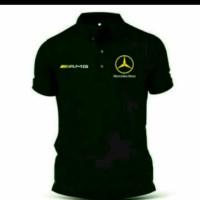 Polo shirt/Tshirt/Kaos Kerah MERCEDES BENZ Keren