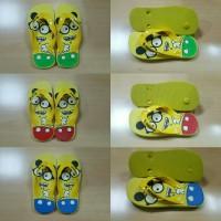 Jual Sandal Jepit Anak Minion (Uk. Tanggung) Murah