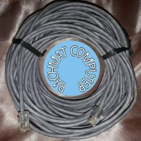 Kabel LAN 30M Cat5E Siap Pakai 30Meter UTP Cable 30 M Network 30 Meter