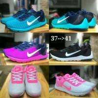 harga Sepatu Cewek Nike Transit Running Sneaker Slip On Sports Tokopedia.com