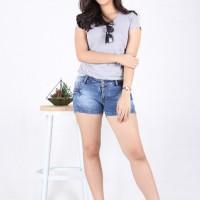 Hot Pants Celana Pendek Jeans (6034B)