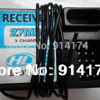 RECEIVER 3ch 27mhz HENG LONG MAD TRUCK GAINER