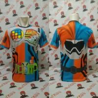 Kaos Kamen Rider Ex-Aid Mighty Brother XX Full Print