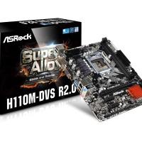 MOTHERBOARD ASRock H110M-DVS Micro ATX LGA 1151