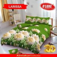 Bed Cover set Kintakun D'luxe 3D ukuran Queen 160 / King 180 LARISSA