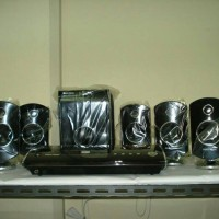 harga Polytron Home Theater System Pht500sr Pht 500sr 5.1 5in1 + Dvd Player Tokopedia.com