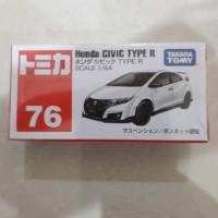 Tomica Takara Tomy 76 Honda Civic Type R putih