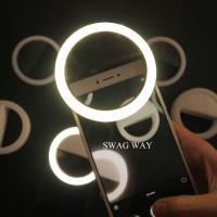 Jual Selfie Ring Light / Lampu Led Selfie / charm eyes / Lampu Selfie Murah