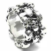 cincin tengkorak anak motor impor korea knuckle ring