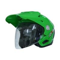Helm Half Face Cargloss AHRS Former Green Solid