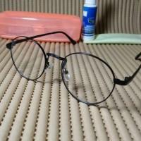 Jual kacamata bulat gratis lensa photocromic grey Murah
