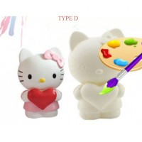 Mainan Anak Hello Kitty Colouring Set - Type D/E/F/G Cat Air