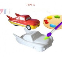 Mainan Anak - Race Car Colouring Set - Type A / B / C