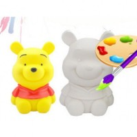 Mainan Anak - Pooh Colouring Set Cat Air Mewarnai