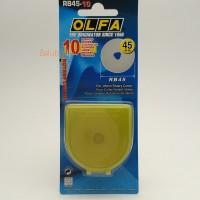OLFA RB45-10 Rotary Blades 10x (For OLFA RTY-2 / G, RTY-2 / DX)