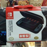 NINTENDO SWITCH AIRFORM / HARD POUCH TRAVEL CASE 3RD PARTY