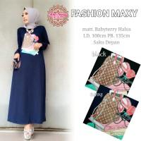Dress Muslim Maxi Dress Wanita FASHION MAXY 47e3fd02c2