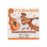 Senar Gitar Senar Guitar Pyramid Orange No 2 B 2nd Nylon